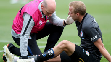 Another injury woe for City star Ritchie De Laet.