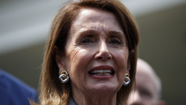 US House speaker Nancy Pelosi.
