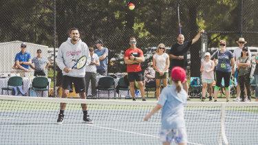 Nick Kyrgios will ramp up training next week ahead of the Brisbane International.