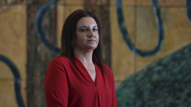 Independent senator Jacqui Lambie says the government's planned national commissioner is a second-best option.