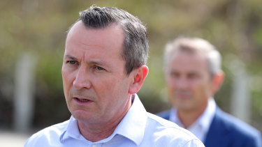 """WA Premier Mark McGowan said four days in a row with no new cases was """"extremely encouraging news""""."""