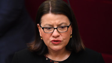 Health Minister Jenny Mikakos has resigned.
