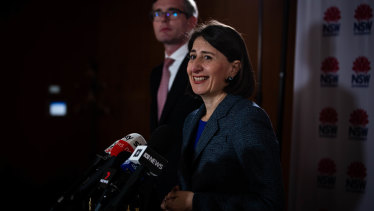 "NSW Premier Gladys Berejiklian says the Jobs Plus Program is an ""unashamed"" move to lure businesses into NSW."