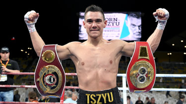 Tim Tszyu can win a world title next year, says legendary Top Rank promoter  Bob Arum