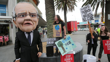 Prime Minister Scott Morrison wants to curb anti-business climate activism.