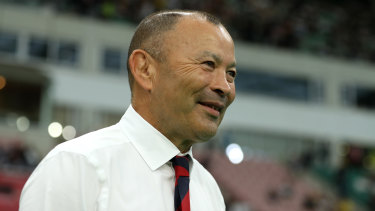 Killing them softly: Eddie Jones has taken a different approach to pre-game psychology: lavishing praise on his opponent.