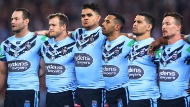 The NRL is considering scrapping the Australian national anthem for the State of Origin series.