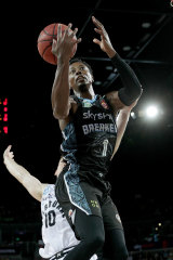 Scotty Hopson top-scored for the Breakers with 22 points on Sunday.