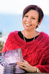 South Coast author Melissa Pouliot organised the book drive for Tathra.