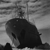The Kista Dan had just been freed from the pressure of the ice, February 1, 1954.