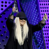 Tones and I accepts the ARIA award for best female artist.