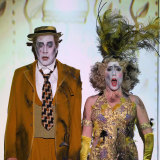 Barrie Kosky and Suzanne Andrade's production of Mozart's <i>The Magic Flute</i> at last year's Adelaide Festival.
