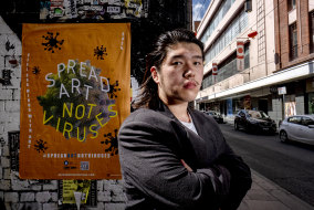 #Spreadartnotviruses is the brainchild of Shanghai-born Charlie Xiao.