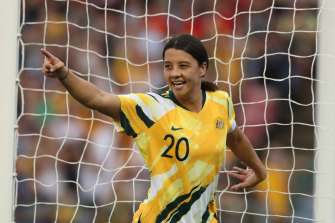 Sam Kerr says the coronavirus pandemic means the Matildas won't get a break for the next five years.