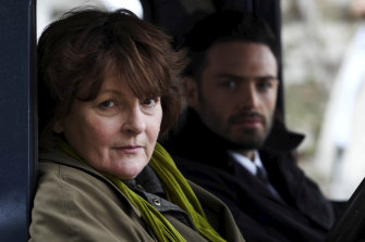 Blethyn (Vera) with David Leon, who played offsider Joe Ashworth for four series.