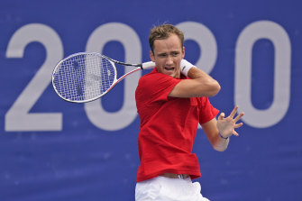 World No.2 Daniil Medvedev was vocal in complaining about the Tokyo heat but the Games now face a different kind of weather challenge.