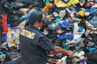 Countries such as Indonesia and China have banned or reduced imports of waste from Australia.