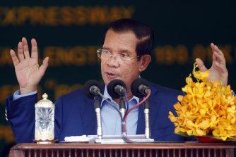 Cambodia's Prime Minister Hun Sen's actions have attracted the ire of Australian MPs.