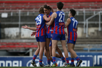 The Chargers, who are reigning premiers, will restart the NAB League season against the Jets.