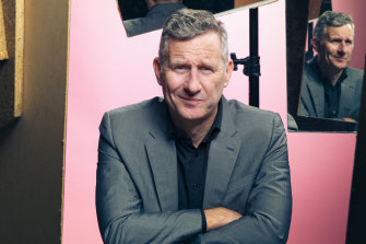 Adam Hills evidently stocked up on amusing COVID-related stories.