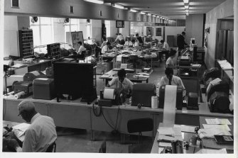 The AAP newsroom in 1964.
