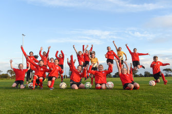 The players at Barnstoneworth United are delighted that the Women's World Cup is coming to Australia.