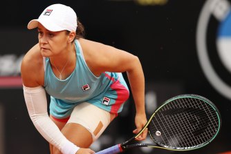 Ash Barty is feeling refreshed and ready to go at the French Open after an arm injury.