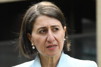 NSW Premier Gladys Berejiklian says Victoria is not at the stage that her state should consider a border closure.