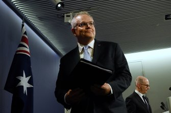 Prime Minister Scott Morrison says repatriation flights will begin again from India from May 15.