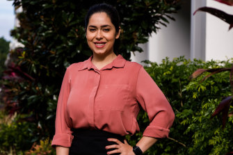 University of NSW PhD engineering student Negin Sarmadi is part of a program that aims to solve industry problems.