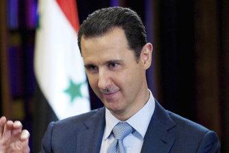 Syrian leader Bashar Assad has presided over a 10-year war.