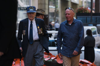 It was not your typical Remembrance Day at Martin Place this year.