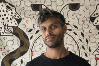 British artist Haroon Mirza.