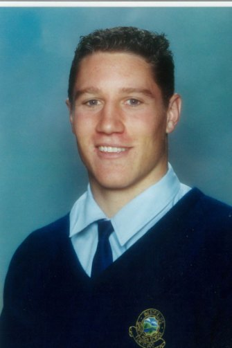 Model student: O'Donnell during his school days.
