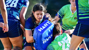 Opportunity knocks: Alysia Lefau-Fakaosilea is set to make her Wallaroos debut against Japan on Saturday in Newcastle.