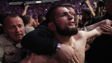 Coming attraction: Khabib Nurmagomedov is touring Down Under.