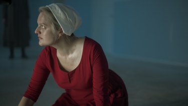 Elisabeth Moss's June is increasingly taking on the characteristics of a superhero, capable of withstanding intense punishment but undaunted in her mission.