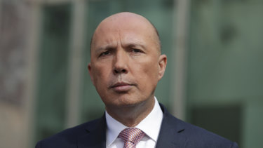 Constitutional disqualification seems the last thing on Peter Dutton's mind.