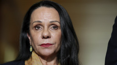 """Linda Burney said there is """"an absolute commitment"""" to work with Ken Wyatt to get an outcome on an Indigenous voice to Parliament."""