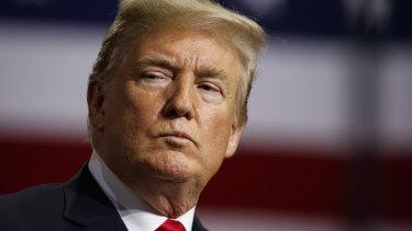 Some US senators believe Donald Trump has been reluctant to impose sanctions.