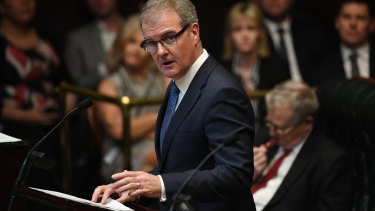 Michael Daley during Question Time.