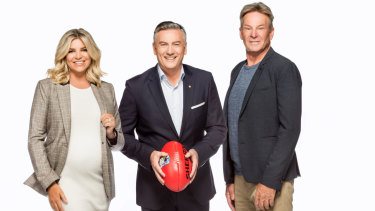 And your host this week: Rebecca Maddern, Eddie McGuire and Sam Newman on the 2018 season of the show.
