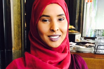 Naima Hassan was reported missing at the weekend.
