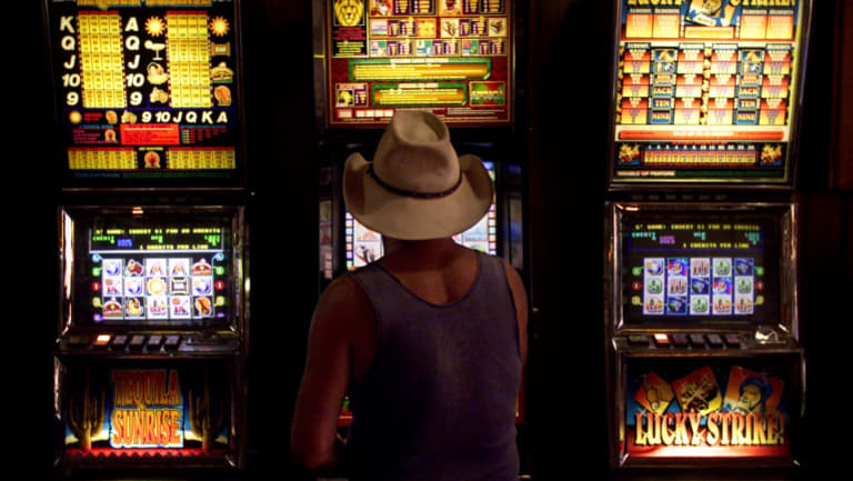 Pokies thrive because they are to us what guns are to America.