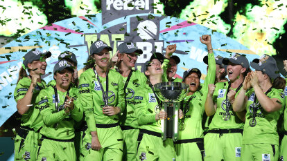 Thunder thump Stars to claim second WBBL title