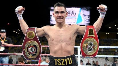 Ratings winner: Tszyu gives himself just a 6/10 for Horn demolition