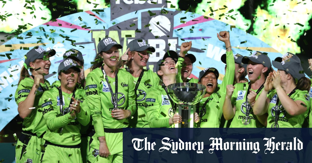 Thunder thump Stars to claim second WBBL title – Sydney Morning Herald