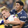 Tackle blitz continues as Cowboys overcome sin bins to beat Knights