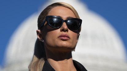 What's Paris Hilton doing in Washington DC?