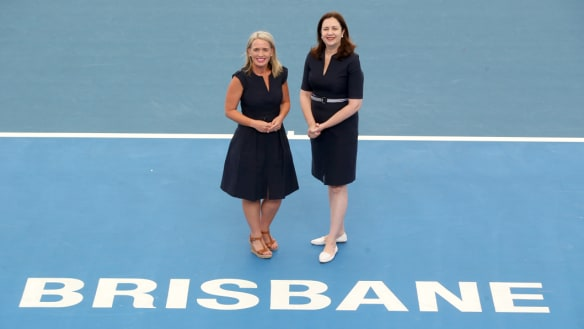 Minister for Tourism Kate and Queensland Premier Annastacia Palaszczuk named Brisbane as one of three cities to host one leg of a new ATP Cup event in 2020.